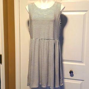 NWOT Old Navy Striped Sleeveless Dress - Size XL